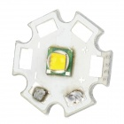 T4-7C 20mm CREE XM-L T4 850lm Warm White Bulb Plate for Flashlight - Silver