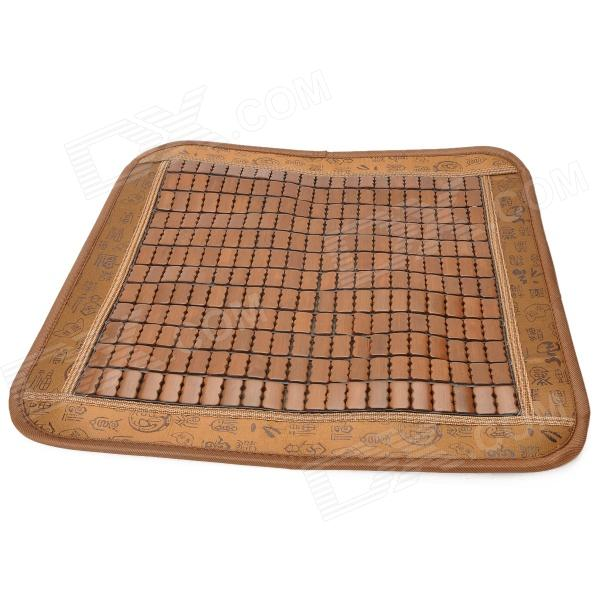Retro Square Shaped Car Seat Bamboo Mat Cushion - Brown от DX.com INT