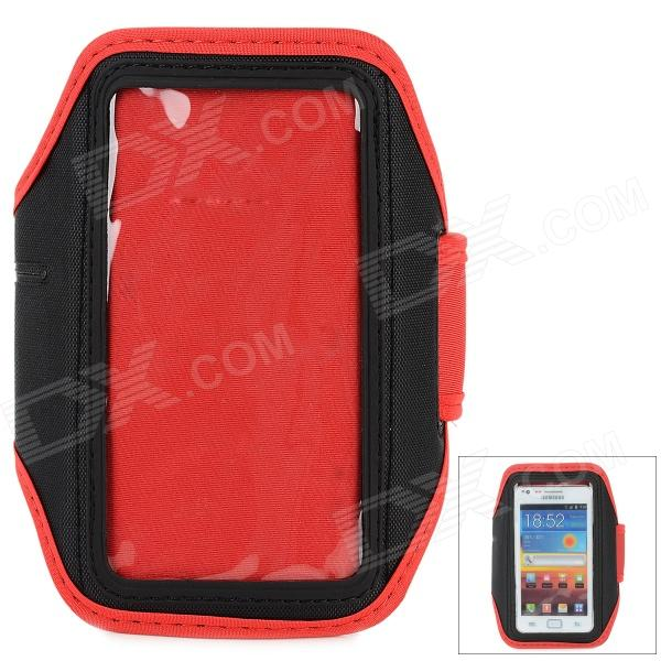 Fashion Sports Gym Arm Band Case for LG NEXUS 4/E960/E970/Optimus G - Red + Black sports stylish gym armband case for lg nexus e960 e970 optimus g black