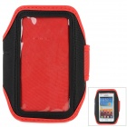 Fashion Sports Gym Arm Band Case for LG NEXUS 4/E960/E970/Optimus G - Red + Black