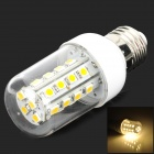 E27 5W 450LM 3500K 28-LED Warm White Corn Light Bulb (85-265V)