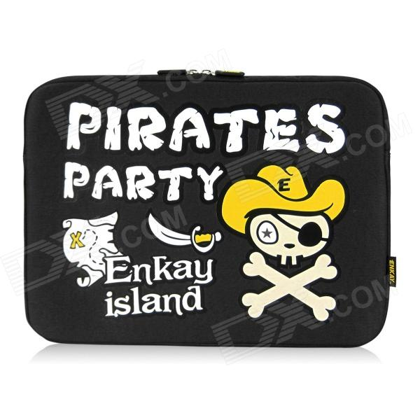 ENKAY ENK-2101 Pirate Pattern Anti-Shock Sponge Sleeve for 13