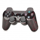 Stylish Rechargeable Bluetooth v4.0 Game Controller for PS3 / PS3 Slim - Black + Red