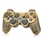 Retro Style Rechargeable Bluetooth v4.0 Controller for PS3 / PS3 Slim - Bronze