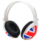 AT-110 UK Flag Pattern Stereo Headphone Handband - Bunt