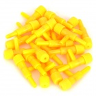 Inlet Air Pipe Air Control Valve for Fish Tank / Aquarium - Yellow (20 PCS)