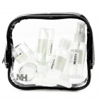 Naturehike NHXSB04-2 Travel PVC + PET Cosmetic Separate Storage Bottles Set - Transparent