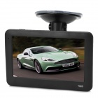 "T900 4.3"" TFT Touch Sreen Win CE 6.0 Car GPS Navigator w/ 4GB Memory / Europe Map / FM - Black"