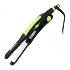 SONAR SN-731 Professional Ceramic Plate Electric Straightening Hair Iron - Black + Green + White