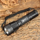 LusteFire T6-2B CREE XM-L T6 700lm 5-Mode White Flashlight - Black (1 x 18650)