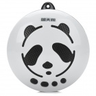 TL-007 Portable Panda Pattern Massage Speaker w/ Mini USB / TF / USB / FM / 3.5mm - White + Black