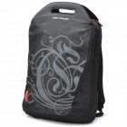 "SENDIWEI  Nylon Leisure 15.6"" Computer Traveling Zipper Backpack - Black"