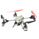 "WLtoys V969 2.4G Radio Control 4-CH Bubble Jet Quadcopter R/C Aircraft w/ 2.1"" LCD Remote Controller"