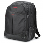 "SENDIWEI  S-201 Nylon Leisure 15.4"" Computer Traveling Zipper Backpack - Black"