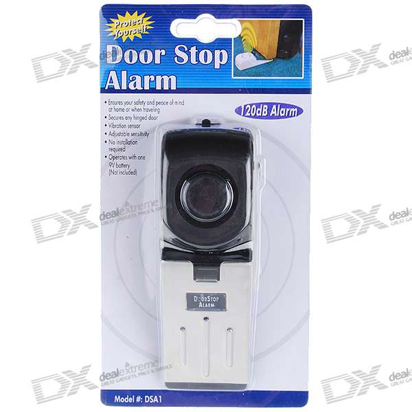 3-Mode Anti-Theft Security Door Stop Alarm (120dB/1*9V)