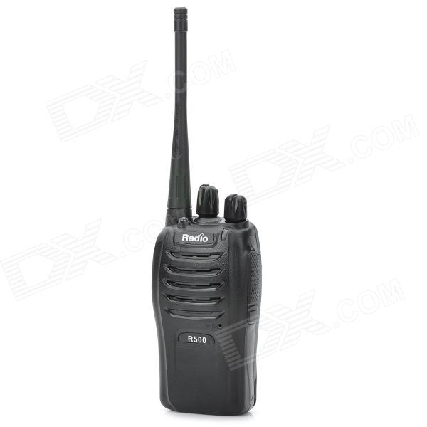 Radio R500 Wireless Civil Walkie-Talkie - Black