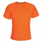 ARSUXEO T1301 Outdoor Cycling Quick Dry Round Collar T Shirt - Orange (Size L)