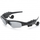 Bluetooth & MP3 Sunglasses w/ 4GB Memory - Black
