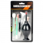 5-in-1 Cleaning Kit for Digital Camera (Air Blower/Cloth/Brush/Sticks)