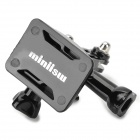 Miniisw M-HS Universal Fast Assemble Helmet Side Mount for Gopro Hero 4/ 3 / 3+ /  2 / 1