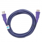 Millionwell 01.0011 High Speed USB 2.0 Male to Female Extension Cable - Purple (300CM)