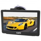 "CAPF DH940B 7"" TFT Win CE 6.0 Car GPS Navigator w/ AV-IN / Bluetooth / FM Transmitter / TF - Black"