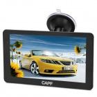 "CAPF DH910 7.0"" Touch Screen LCD Win CE 6.0 Car GPS Navigator w/ FM / 4GB Memory - Black"