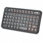 RII RT-MW518 Mini Bluetooth V3.0 66-Key Keyboard w/ Backlight for Iphone / Ipad / Samsung - Black