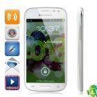 "MOVEGO MP200 Dual-Core Android 4.0 WCDMA Smartphone w/ 4.7"" Screen, Wi-Fi, GPS and Dual-SIM - White"