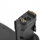 Vertical External Camera Battery Grip for Canon 6D w/ Battery Slots - Black