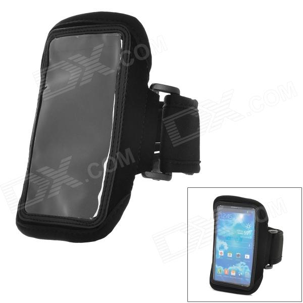 цена на Sports Stylish Gym Armband Case for Samsung Galaxy S4 Mini i9190 - Black