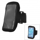 Sports Stylish Gym Armband Case for Samsung Galaxy S4 Mini i9190 - Black