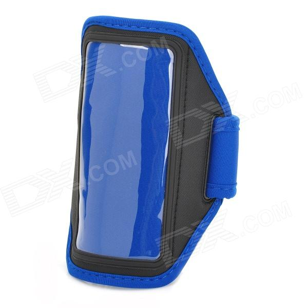 Sports Stylish Gym Armband Case for LG Nexus E960 / E970 Optimus G - Blue + Black jiawen zigbee bulb smart bulb wireless bulb app control work with zigbee hub free shipment