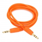3.5mm Male to Male Audio Connection Cable - Orange (100cm)