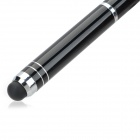MY-05 Multi-Functional 3mW 650nm Red Laser Pointer + 1-LED White Flashlight + Black Ink Stylus Pen