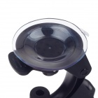 Car Mount Suction Cup Holder + 360 Degree Rotatable Bracket for Samsung Galaxy S4 i9500 - Black