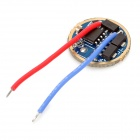 1050mA Constant Current Memory 5-Mode LED Driver Circuit Board for Flashlight (3~4.5V)