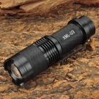 SH-98 700lm 5-Mode White Zooming Flashlight w/ CREE XM-L U3 - Black (1 x 18650 / 26650 or 3 x AAA)