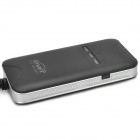 Goome GT02A GPS / GSM / GPS Alarm Car Motorcycle Positioning Tracker - Preto (12 ~ 36V)