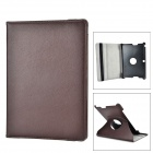"ENKAY ENK-7300 360 Degree Rotation Protective PU Leather Case for 10.1"" Asus TF300 - Brown"