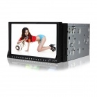 "Joyous J-2611MX 7"" Touch Screen Car FM/AM Radio w/ GPS, DVD Player, Bluetooth, RDS, DVB-T - Black"