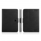 ENKAY ENK-7206 Simple Style Protective PU Leather Case for Amazon Kindle Fire HD 8.9 - Black