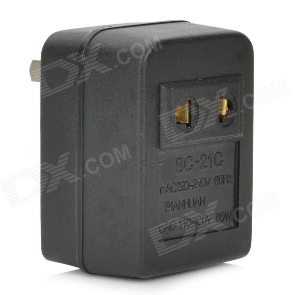 50W AC 220~240V 60Hz to AC 110~120V Power Transformer