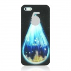 ENKAY Starry Sky Pattern Protective Plastic Case for Iphone 5 - Multicolor
