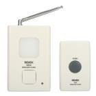 X810 Waterproof Wireless Remote Control Doorbell Set - White (2 x CR2032 / 3 x AA)