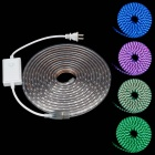 ZiYu JB01 Waterproof 60W 4500lm 300-SMD 5050 LED RGB Flexible Light Strip (220V / 2-Flat-Pin Plug)
