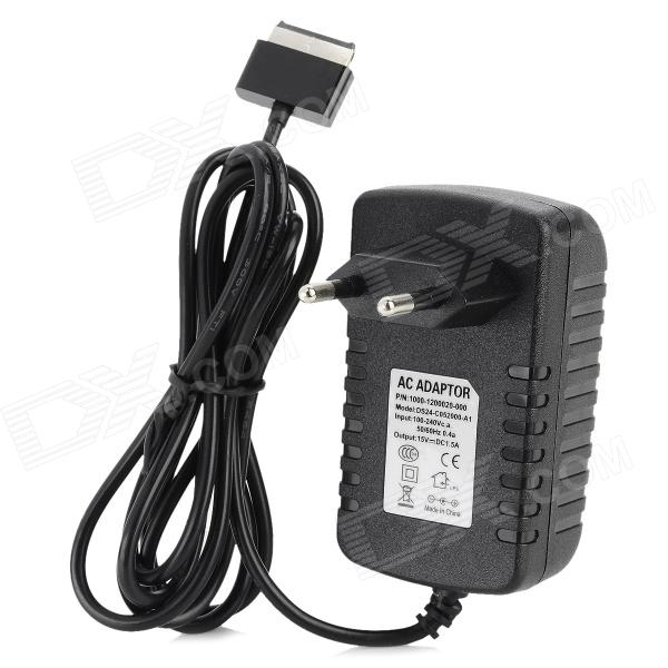 HYT-A001 15V 1.5A AC Power Adapter for Asus Eee Pad TF300 + More - Black (EU Plug / 1.5 Meters) otg adapter for asus eee pad transformer tf101 tf201 black