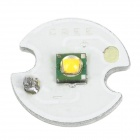 Cree XPG  Q5 3W 250lm Warm White Light LED Emitter w/ 14mm Base - Silver (3.5~3.7V)