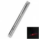 SG-HB01 Adjustable 5mW 635nm Red Light Line Laser Pointer - Silver (2 x AAA)