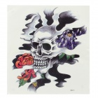 YIMEI MQA15 Skull Pattern Temporary Tattoo Sticker for Men